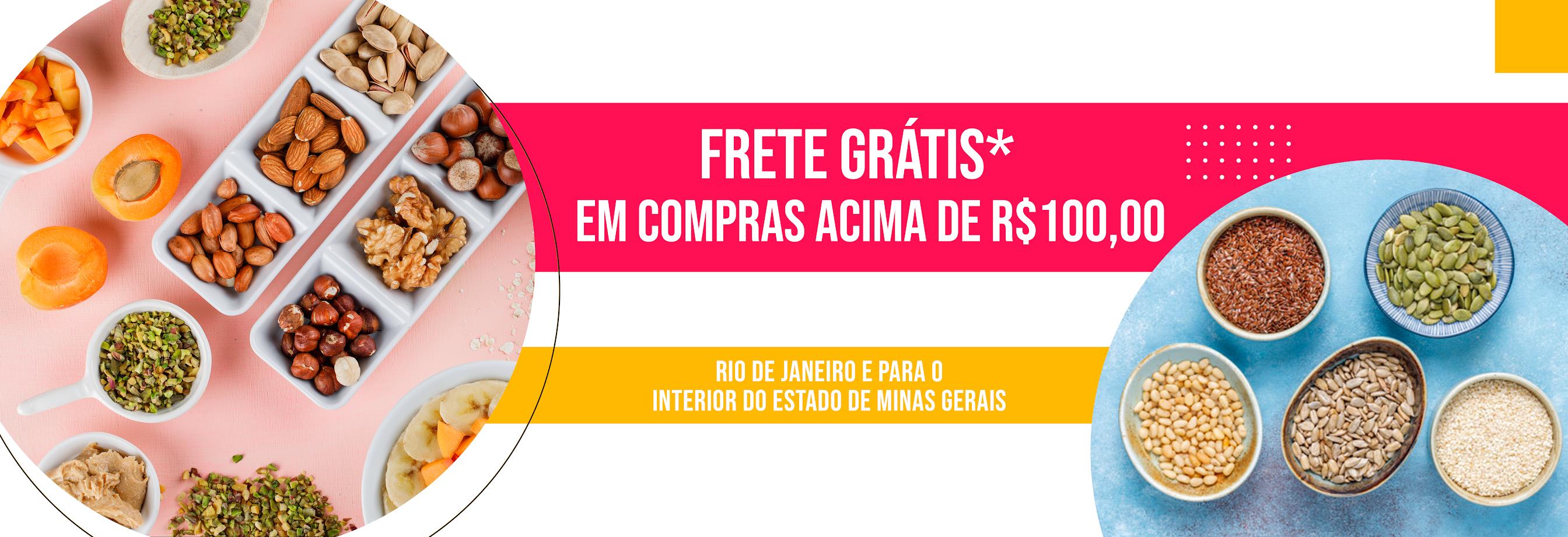 ME LEVE – BANNER – FRETE GRÁTIS PARA COMPRAS ACIMA DE 100 REAIS